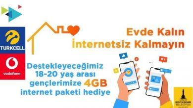 Photo of İzmir Belediyesi 4 GB İnternet Nasıl Alınır?