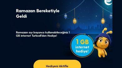 Photo of Turkcell Ramazan Ayı 1 GB Nasıl Alınır?