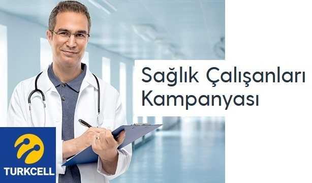 Turkcell Sağlıkçılara 500 Dakika ve 5 GB Alma