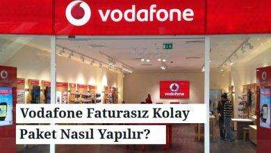 Photo of Vodafone Faturasız Kolay Paket Nasıl Yapılır?