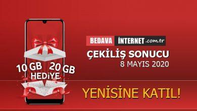 Photo of 10 GB Bedava İnternet Mayıs Çekilişi