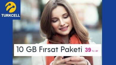 Photo of Turkcell 10 GB Fırsat 39 TL Paketi Nasıl Alınır?
