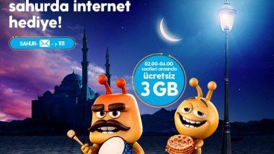 Photo of Turkcell Sahurda 3 GB Hediye Paketi