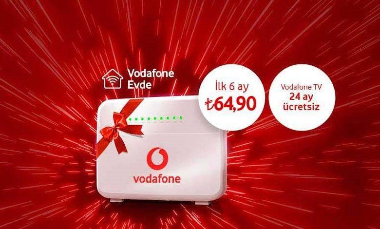 Photo of Vodafone Evde İnternet Paketleri 64 TL ve 2020 Fiyatları