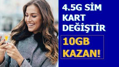 Photo of Ücretsiz Turkcell Sim Kart Yenileme 10 GB Bedava İnternet