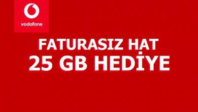 Photo of 2020 Vodafone Geçiş Kampanyaları Faturasız 25 GB Hediye
