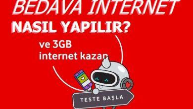 Photo of 2020 Vodafone Seviyorum 3 GB Bedava İnterneti Nasıl Yapılır?