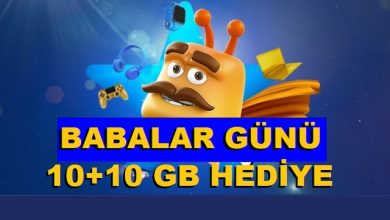 Photo of Turkcell Babalar Günü 10+10 GB İnternet Kampanyası