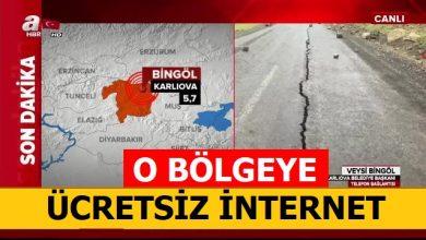 Photo of Deprem Hediye İnternet ve Konuşma