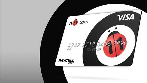 Paycell N11 Kart Bedava 22 TL ve 500 MB İnternet
