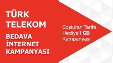 Photo of Türk Telekom Faturasız Coşturan 3 GB Bedava İnternet Paketi