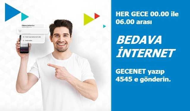 Türk Telekom Geceden Sabaha Bedava İnternet Kampanyası