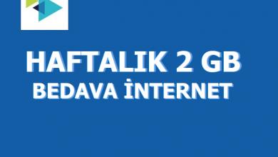 Photo of Türk Telekom Haftalık 2 GB Bedava İnternet