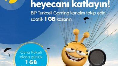 Photo of Turkcell Bip Gaming Paketi Saatlik 1 GB Bedava İnternet