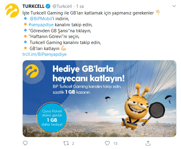 Turkcell Resmi Bedava İnternet Açıklaması