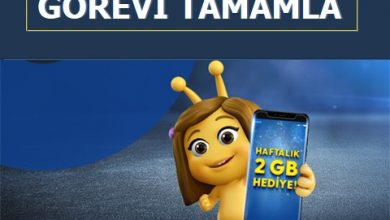 Photo of 2020 Senyapdiye Paycell 2 GB Bedava İnternet Görevi
