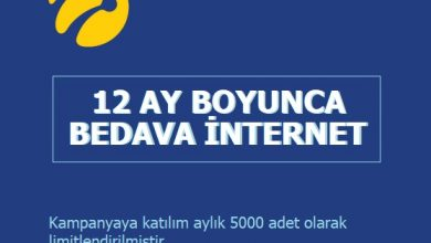 Photo of Turkcell İşte Paketi 12 Ay Boyunca 2 GB Bedava İnternet