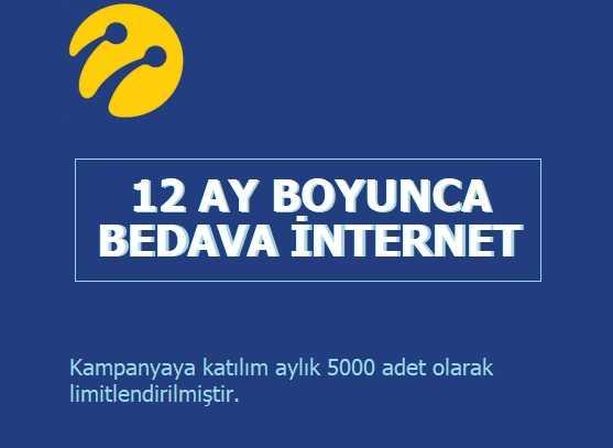 Turkcell İşte Paketi 12 Ay Boyunca 2 GB Bedava İnternet