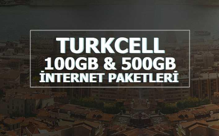Turkcell Faturalı Yıllık İnternet Paketleri