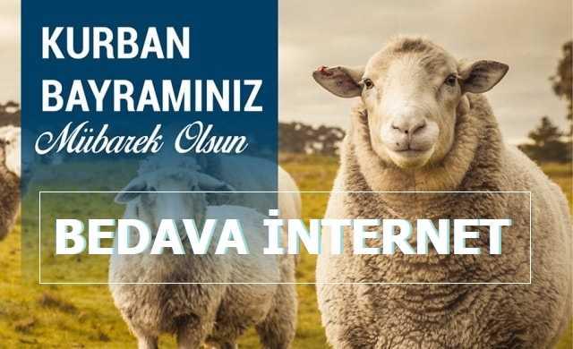 Turkcell Kurban Bayramı Bedava İnternet - 2020 Temmuz