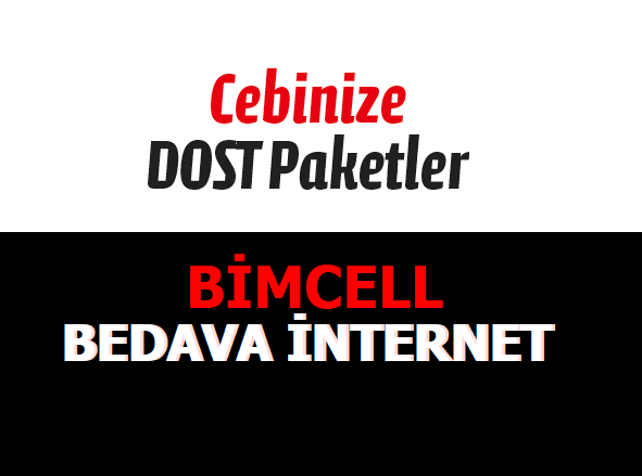 Yıl Boyunca Bimcell 1 GB Bedava İnternet