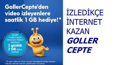 Photo of Goller Cepte 2 GB Bedava İnternet
