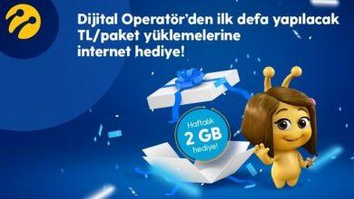 Photo of TL Yükle 2GB Hediye İnternet Kazan