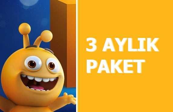 Turkcell 3 Aylık 16 GB İnternet Paketi 99 TL