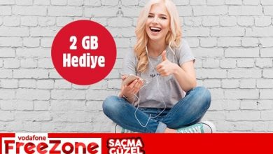Photo of Vodafone 2GB Bedava İnternet Kampanyası