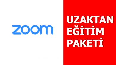Photo of Zoom Uzaktan Eğitim İnternet Paketi