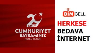Photo of Bimcell 29 Ekim Bedava İnternet 2020