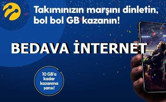Tribün Dinlet 10 GB Bedava İnternet Kazan