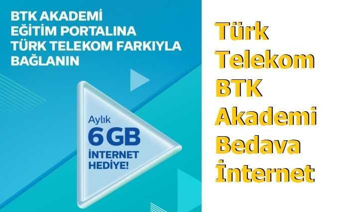 Türk Telekom BTK Akademi İnternet