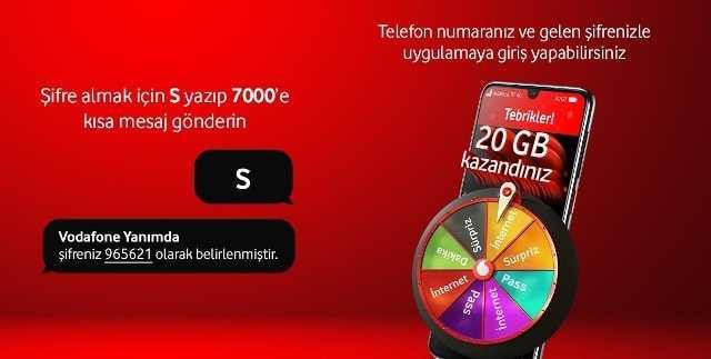 Vodafone Yanımda Bedava İnternet