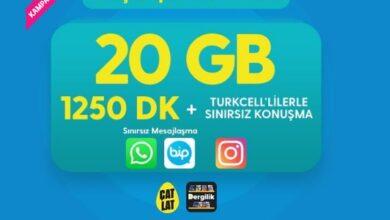 Photo of Faturalı Süper Genç 20 GB Eko 1250 DK. Paketi 94 TL