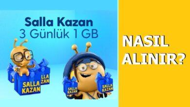 Photo of Salla Kazan 1 GB İnternet 3 TL Nasıl Yapılır?