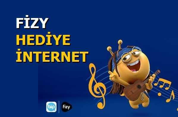 Turkcell Fizy Bedava İnternet Kasım 2020