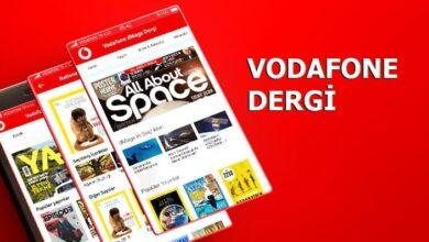 Photo of Ücretsiz Vodafone Dergi İndir Hediye GB Kazan