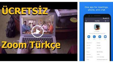 Photo of Ücretsiz Zoom Türkçe İndir