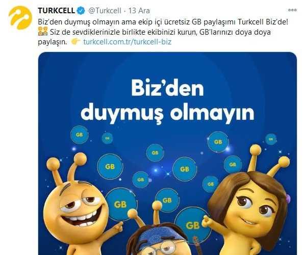 Sen Yap Diye Turkcell Biz Kampanyası Nasıl Yapılır