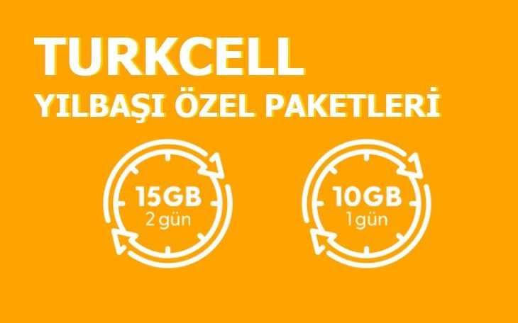 Turkcell Yılbaşı Paketleri 2021