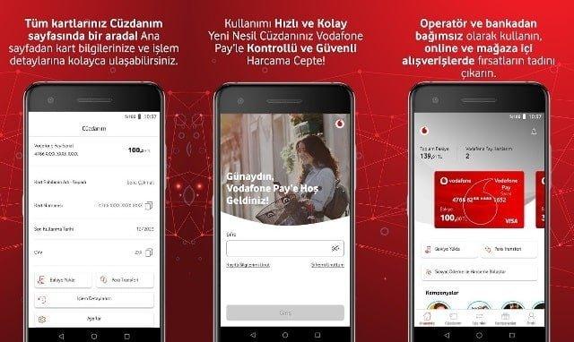 Vodafone Pay Uygulaması
