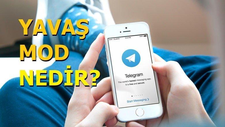 Telegram yavaş mod nedir?