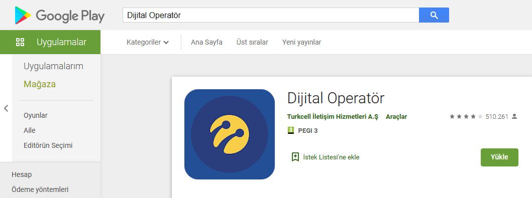 Dijital operatör indir