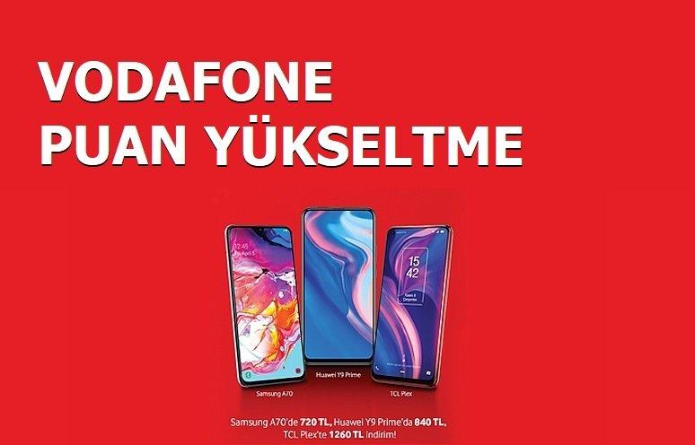 Vodafone puan yükseltme hilesi