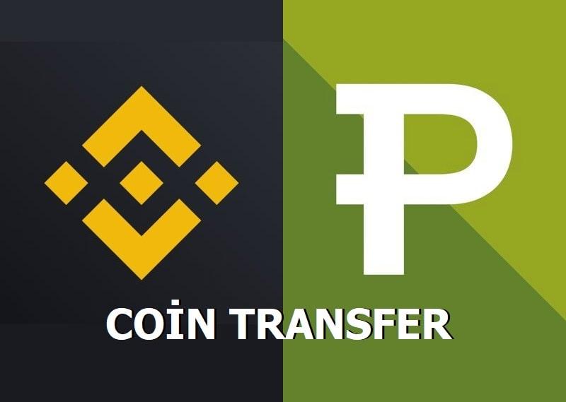 Paribudan Binance'ye Coin Transfer