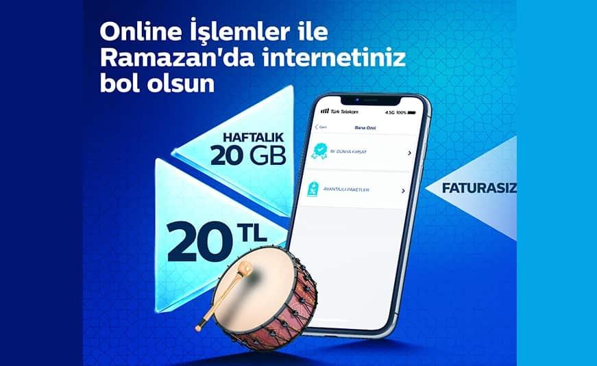 Türk Telekom Ramazan Kampanyası 2021