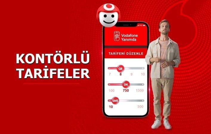 Vodafone Kontörlü Tarifeler